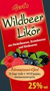 Wildbeer-Likör 25%
